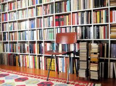 Wall to Wall Book shelves