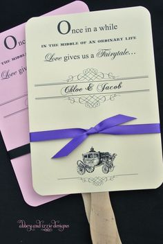 Fairy Tale Wedding Favor, Personalized Hand, Cinderella favors,  by abbeyandizziedesigns