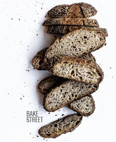 Potato and seeds sourdough bread, made with wholemeal, rye, plain and all purpose flour. Seasoned with potato flakes and seeds. Donut Recipes, Sourdough Bread, Bread Rolls, Bread Crumbs, International Recipes, Bread Baking, Food Styling, Food Art, Food Photography