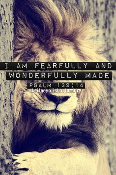 Fearfully & Wonderfully Made <3 | Psalm