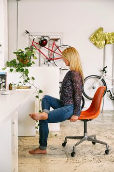 Six stretches for people who sit at desks via A CUP OF JO
