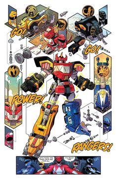 cartoons memes The Megazord Go Go Power Ranger Power Rangers Fan Art, Power Rangers Comic, Power Rangers Megazord, Mighty Morphin Power Rangers, Gundam, Robot Concept Art, Robot Art, Robots, Kamen Rider