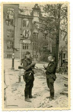 Russian soldiers.Berlin 1945