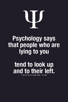 Fun Psychology facts here! I watch this each time! Inside counting joke we have for dealing you. #look #countthelies #4real