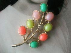 Vintage brooch. Looks like candy.