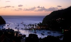 St Lucia at Night