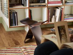 When creating th Butterfly Stool, the designer Yori Sanagi took his inspiration from the majestic insect.