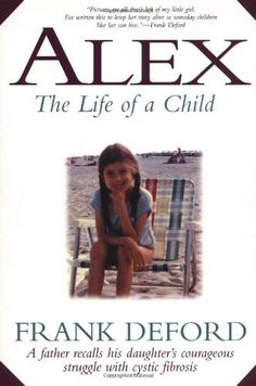 TEAR JERKER!! Alex: The Life of a Child by Frank Deford, http://www.amazon.com/dp/1558535527/ref=cm_sw_r_pi_dp_dJqHpb1AQYEFW