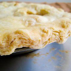 Flaky Pie Crust - Vegan