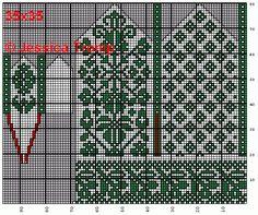 A million knitting patterns and fair isle charts here! Baby Knitting Patterns, Knitted Mittens Pattern, Crochet Mittens, Crochet Gloves, Knitting Charts, Knitting Socks, Knitting Stitches, Norwegian Knitting, Crochet Chart