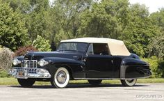 1948 Lincoln Continental Convertible - Car Pictures
