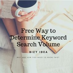 Free Way to Determine Google Keyword Search Volume - Bizy Idea What Is Seo, What Is Social, Make Money Blogging, Way To Make Money, How Seo Works, Seo Tutorial, Keyword Planner, Seo For Beginners, First Blog Post