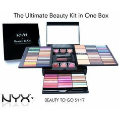 NYX BEAUTY TO GO MAKE-UP PALETTE