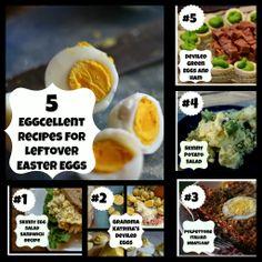 European Cutie ♥: 5 Eggcellent Recipes for Leftover Easter Eggs ♥