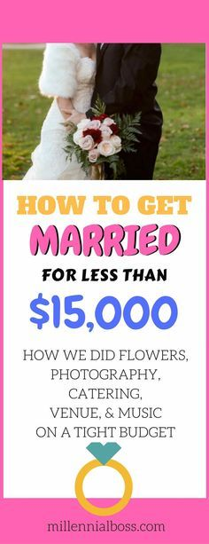 Getting Married on a Budget | Real Wedding Budgets | 15,000 Wedding budget