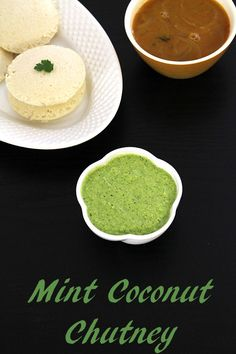 Pudina coconut chutney recipe – It has refreshing flavors from mint. It also has slight tang from tamarind which complements the mint flavor very well and it makes this chutney more delicious tasting.