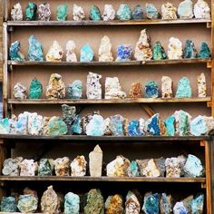 New Mexico: Off the Beaten Path: 6 Hidden Gems Along New Mexico's Turquoise Trail New Mexico Road Trip, Travel New Mexico, Crystals And Gemstones, Stones And Crystals, Healing Crystals, Santa Fe, Rock Hunting, Rock Collection, Collection Displays
