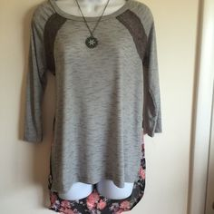 Brand new hi lo top Firm unless bundled. Rue 21 Tops Blouses
