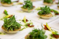 Wedding breakfast starter by Galloping Gourmet at Curradine Barns wedding venue in Worcestershire http://emotivephotography.co.uk