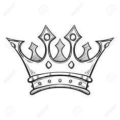 Stock Vector – Stock Vector – – Graffiti World King Crown Drawing, King Crown Tattoo, Crown Tattoo Design, Queen Tattoo, Tattoo Design Drawings, Pencil Art Drawings, Cool Art Drawings, Art Drawings Sketches, Small Crown Tattoo