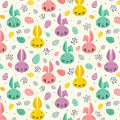 Easter Bunnies on Behance