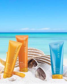 Entre os planos das férias de verão, está cuidar bem da pele! =D #VerãoMK