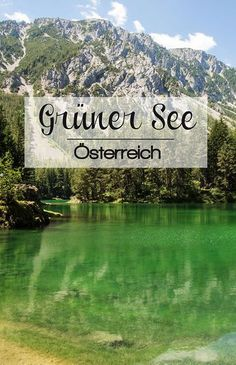Grüner See in Tragöß im Juni - Picture Diary - Photography June Pictures, Ghost Pictures, Ribba Picture Ledge, Newborn Christmas Photos, Reflection Pictures, Pebble Pictures, Green Lake, Travel Goals, Day Trips