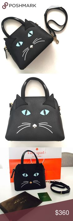 Kate Spade Cat Maise Brand new without tags Kate Spade cat mini maise. This bag has been unused only tags have been removed. This a rare and sold out piece. Grab it before it's gone! kate spade Bags