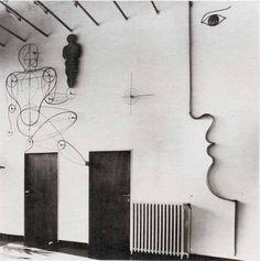 Oskar Schlemmer, Rabe House, 1930