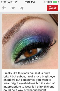 Cool make up idea