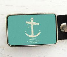 Vintage Anchor Belt Buckle