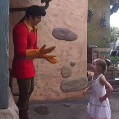 This Little Girl Really Wants Disney's Gaston to Know That She Hates Him: It's safe to say Isabella is not a fan of Beauty and the Beast's Gaston, and when she met him at Walt Disney World in Florida, she wasn't afraid to say so.