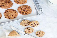 Slice-and-Bake Oatmeal Raisin Cookies / Brian W. Ferry