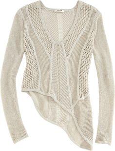 Helmut Lang Open Web Knit Sweater at Barneys.com