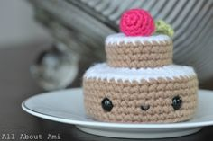 Crochet Desserts Pattern<3