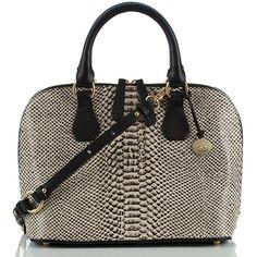 Brahmin Brahmin Vivian Odyssey Dome Bag ($395) ❤ liked on Polyvore