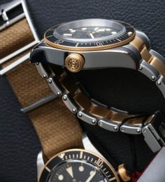 7ec28f49fdf Tudor Heritage Black Bay SandG 79733N Two-Tone Watch Hands-On