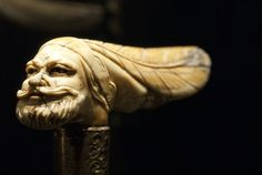 """Old bearded man - """"The world of vintage sticks"""", #Mercanteinfiera Autumn 2012 #Antiques"""