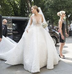 d05d9213c43b Gold Wedding Gowns are Chic for New Brides in 2019 victoria swarovski  wedding gown