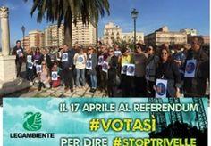 Legambiente: 10 buoni motivi per votare SI al referendum del 17 aprile