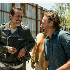 Having too much fun! - love to love Rick and hate Negan this season! :)