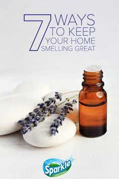 Learn how to make your home smell good with these seven easy tips from Sparkle paper towels. Cleaners Homemade, Diy Cleaners, Essential Oil Blends, Essential Oils, Home Scents, Tips & Tricks, Nail Salon Design, House Smells, Natural Cleaning Products