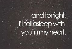 every night.  <3