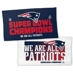 New England Patriots Super Bowl LI Champions Official Locker Room Towe: New England Patriots Super Bowl LI Champions Official Locker Room…