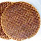 Stroopwafles- best little dutch cookie, place over your cup of hot cocoa, cider, tea, coffee, etclet them warm and then eat for a delicious breakfast treat