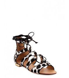 Les sandales girafe de Cosmoparis | DailyELLE