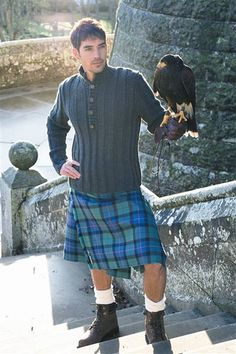 """This is so sexy I can't stand it.  I think I""""m going to have to buy hubby a kilt."""