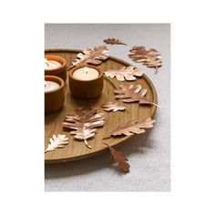 Coordinate your indoor decor with the dazzling wardrobe of fall foliage. These solid copper leaves are hand-handmmered and cut with precision to replicate Mother Nature's work. Sprinkle these leave ac