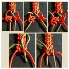 By Dman Mcq #paracord #pictorial #tutorial #diy #paracordial by marcie