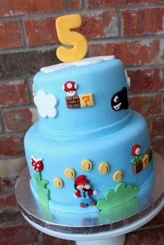 Mario cake(: